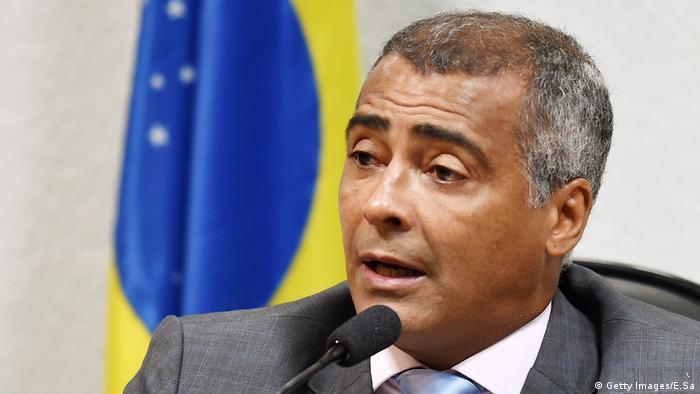 Romario, ehemaliger Fußballstar jetzt Senator (Getty Images/E.Sa)