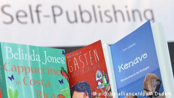 Buchmesse Frankfurt, Self-Publishing (picture-alliance/dpa/A.Dedert)