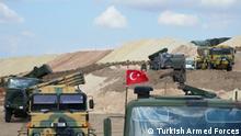 Syrien Idlib Provinz Türkische Armee Beobachtungsposten