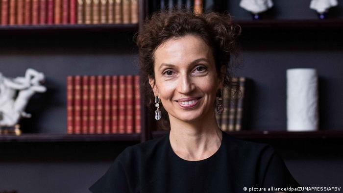 Audrey Azoulay, French candidate for UNESCO (picture alliance/dpa/ZUMAPRESS/AFBV)