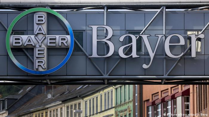 Bayer factory in Wuppertal, western Germany