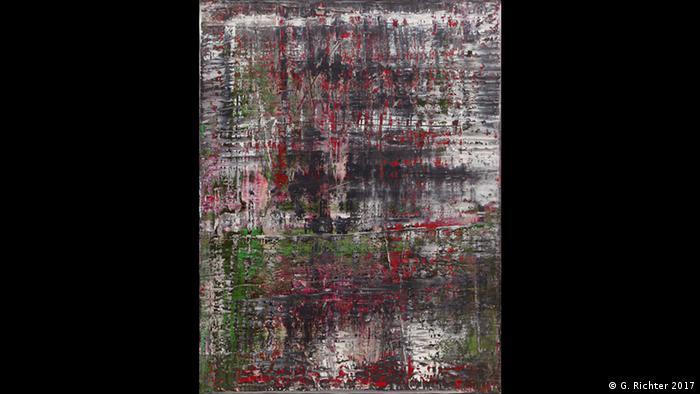 Gerhard Richter, Birkenau painting panel