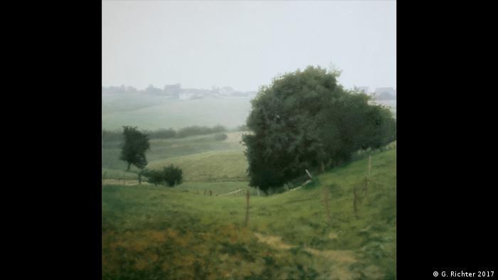 Gemälde Meadowland 1985 von Gerhard Richter (G. Richter 2017)