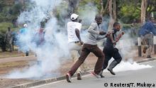 Kenia Proteste in Nairobi