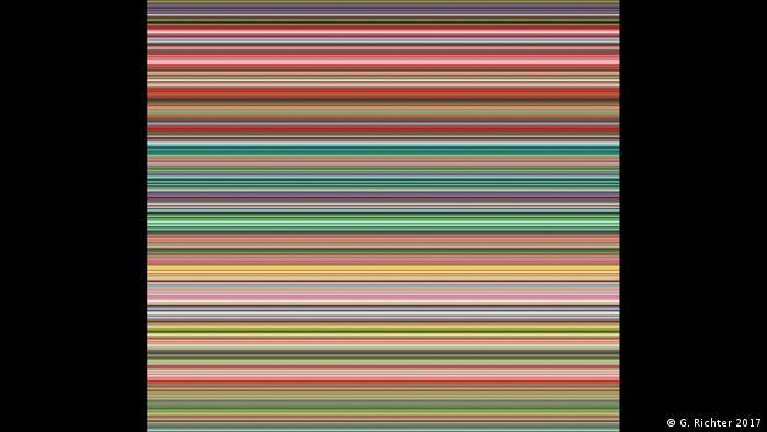 Strip 2012 by Gerhard Richter (G. Richter 2017)