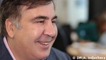 Ukraine, DW-Interview mit Michail Saakaschwili