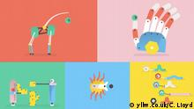Screenshot Kurzfilm Silly Robots exit 2