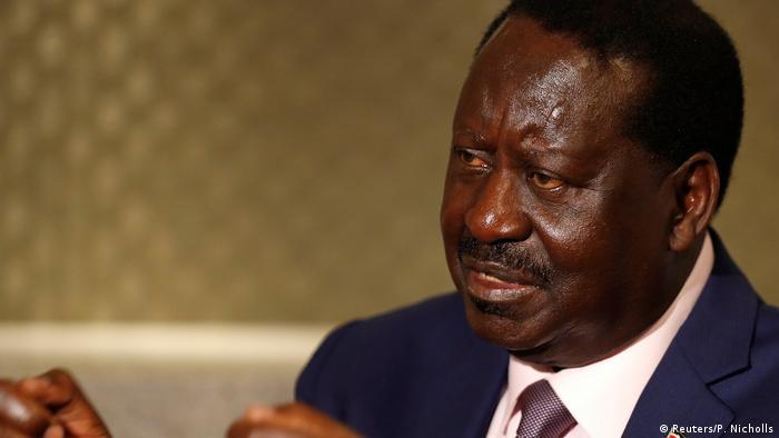 Kenia Raila Odinga, Oppositionsführer | Interview in London, Großbritannien