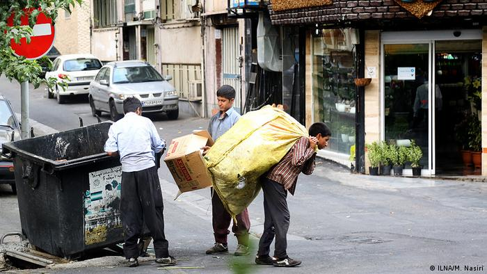 كودکان کار در ایران (عکس از آرشیو)