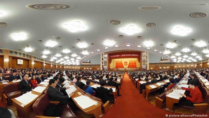 China Nationaler Volkskongress 2016 in Peking