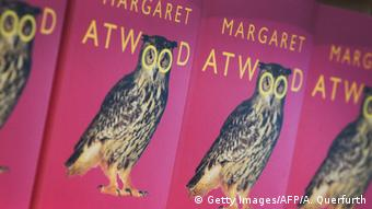 Margaret Atwood owl on book cover