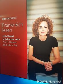 Leila Slimani was one of numerous big-name French authors on hand at the trade fair