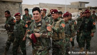 Peshmerga forces in Iraq
