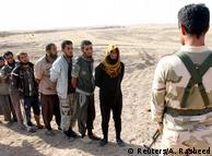Джихадисты ИГ, взятые в плен в Ираке