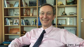 Michael Harms, Geschäftsführer des Ost-Ausschusses der deutschen Wirtschaft (DW/V. Esipov)