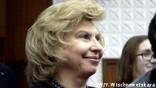 Russland Menschenrechtsbeauftragte Тatyana Moskalkowa über die Verfolgung von Schwulen