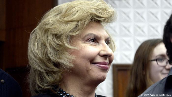 Російська омбудсменка Тетяна Москалькова приїхала до Києва