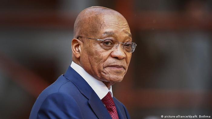 Portrait of South African President Jacob Zuma