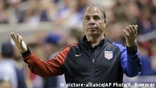 Fussball US-Trainer Bruce Arena