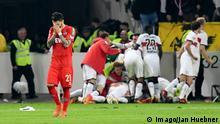 Deutschland VfB Stuttgart gegen 1. FC Köln