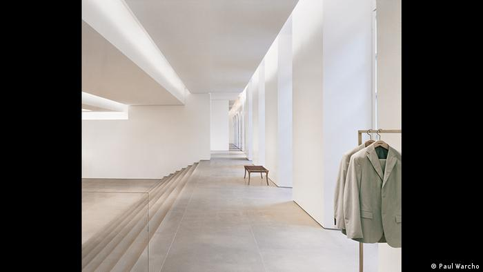 Part of the Frankurt museum's exhibition on Jil Sander (Paul Warcho)