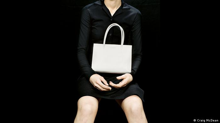 A purse from the Frankfurt exhibit on Jil Sander (Craig McDean)