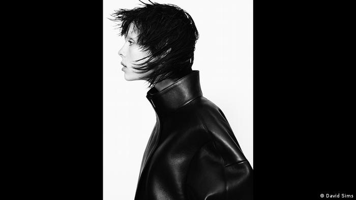 Image of model Edie Campbell wearing Jil Sander (David Sims)