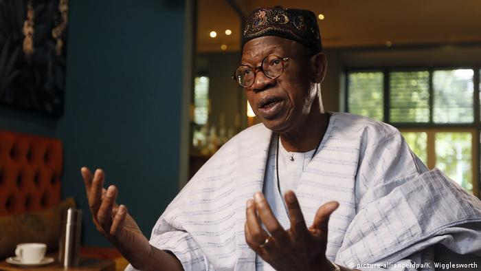 Nigerian information Minister Lai Mohammed