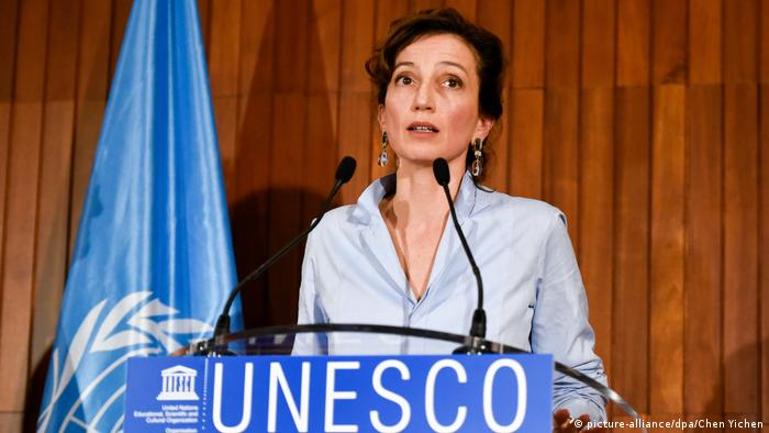 UNESCO chief Audrey Azoulay