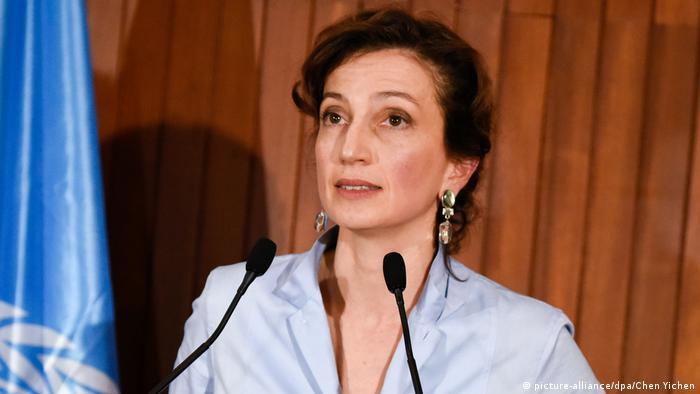 Frankreich Audrey Azoulay soll neue Unesco-Chefin werden (picture-alliance/dpa/Chen Yichen)
