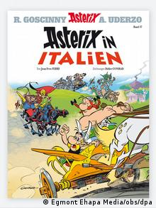 Cover of the new Asterix book in German (Egmont Ehapa Media/obs/dpa)