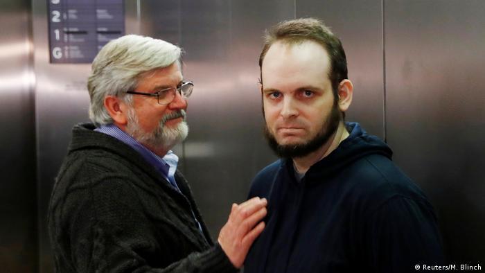 Australien Joshua Boyle kommt am International Airport in Toronto an (Reuters/M. Blinch)
