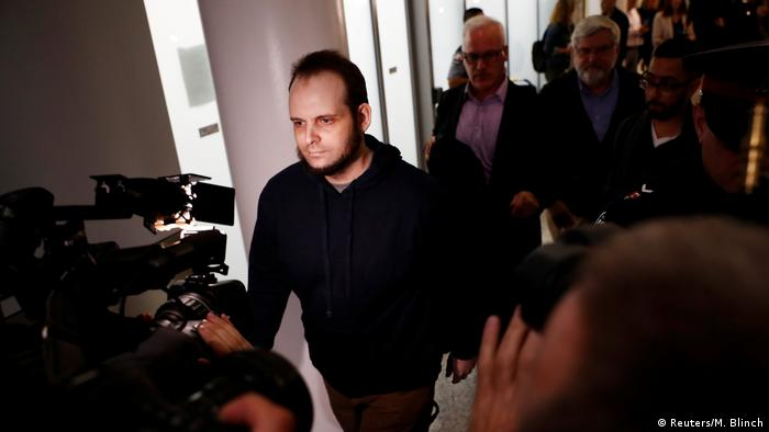 Australien Joshua Boyle kommt am International Airport in Toronto an (Reuters/M. Blinch)