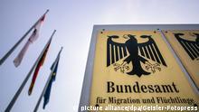 Bundesamt für Migration und Flüchtlinge auf dem Gelände der ehemaligen Südkaserne. Nürnberg, 26.01.2016 | Verwendung weltweit