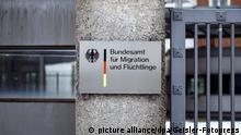 Bundesamt für Migration und Flüchtlinge auf dem Gelände der ehemaligen Südkaserne. Nürnberg, 04.01.2017 | Verwendung weltweit