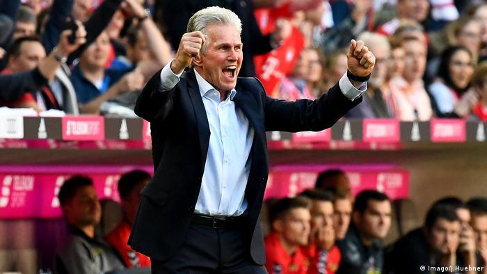 Bundesliga: Bayern München gegen SC Freiburg, Bayern Münchens Trainer Jupp (Imago/J.Huebner)