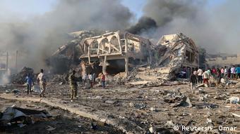 Somalia Mogadishu Bombenexplosion