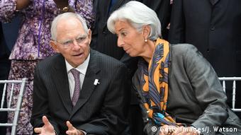 Με την νυν πρόεδρο της ΕΚΤ Κρ. Λαγκάρντ