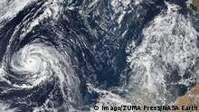 Satellitenbild Hurrikan Ophelia