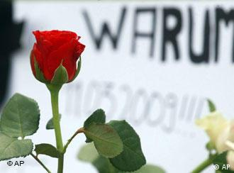 Remembering the 15 victims in Winnenden