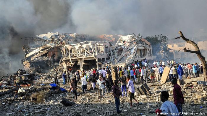 Somalia Mogadischu Bombenanschlag