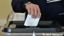 Kommunalwahlen in Mazedonien, Skopje, 15.10.2017