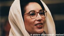 Benazir Bhutto - pakistanische Premierministerin 1996