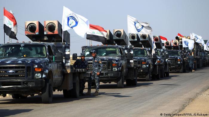 Las fuerzas iraquíes retomaron hoy el control de la principal base militar en la disputada provincia de Kirkuk, en el noreste del país, en un operativo que busca expulsar a las tropas kurdas de esa región del Kurdistán. (16.10.2017).
