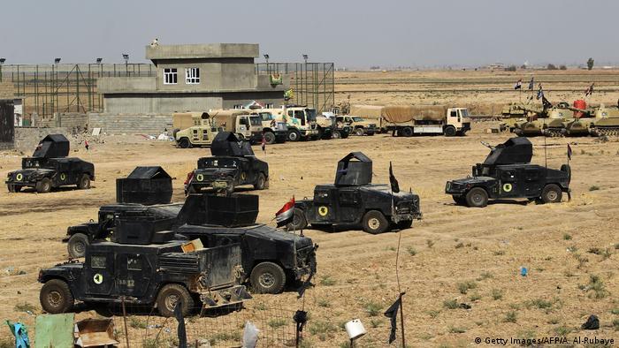 Irak Armee startet Operation in Kirkuk (Getty Images/AFP/A. Al-Rubaye)