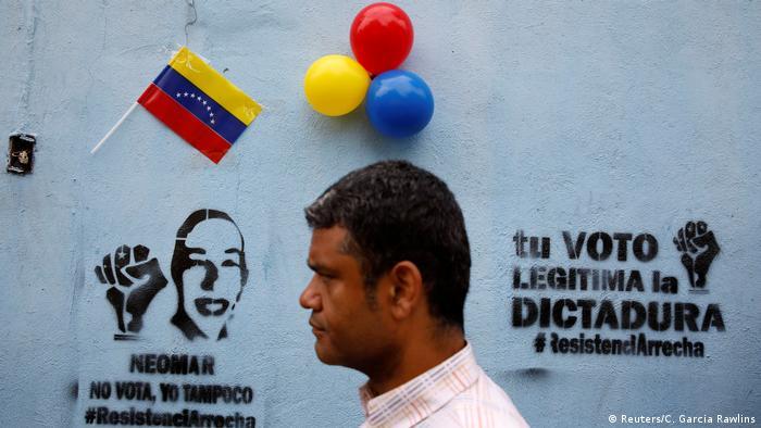 Venezuela Regionalwahlen (Reuters/C. Garcia Rawlins)