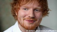 """Ed Sheeran returns to studio. File photo dated 06/02/17 of Ed Sheeran who has sparked excitement among his fans after revealing that he has returned to the recording studio. Issue date: Monday September 18, 2017. The singer-songwriter posted a photograph on Instagram showing him sitting on a chair in the studio with his guitar in the foreground, with the caption: """"Back in."""" See PA story SHOWBIZ Sheeran. Photo credit should read: PA/PA Wire URN:32893448 