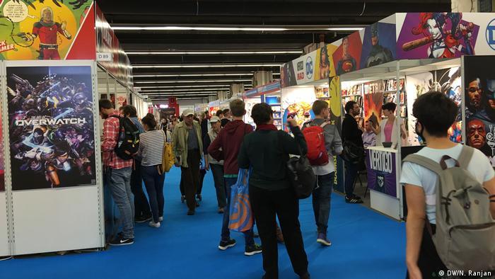 Deutschland Frankfurter Buchmesse (DW/N. Ranjan)