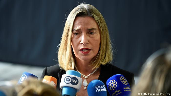 Luxemburg Treffen der EU-Außenminister (Getty Images/AFP/J. Thys)