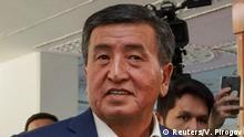 Kirgistan Sooronbaj Scheenbekow